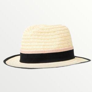 NWOT Halogen Straw Panama Hat